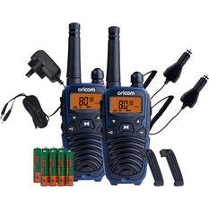 Oricom UHF CB Radio 2W 2 Pack UHF2195, , scanz_hi-res