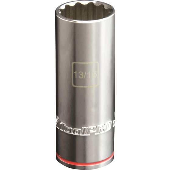 ToolPRO Single Socket - Deep, 1 / 2 inch Drive, 13 / 16 inch, , scanz_hi-res
