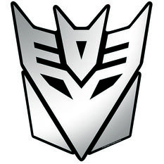 Hot Stuff Sticker - Decepticons, Chrome, , scanz_hi-res