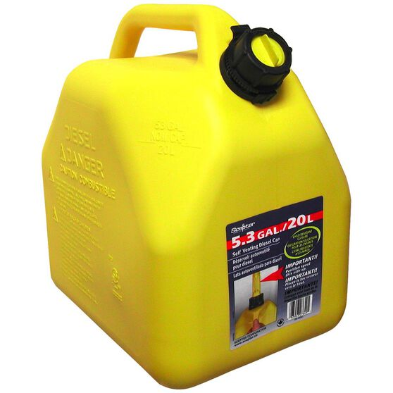 Jerry Can- Diesel, 20 Litre, , scanz_hi-res