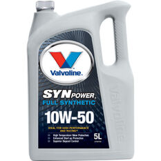 Valvoline Synpower Engine Oil - 10W-50 5 Litre, , scanz_hi-res