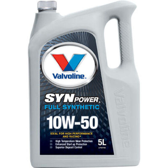 Valvoline Synpower Engine Oil - 10W-50 5 Litre, , scanz_hi-res