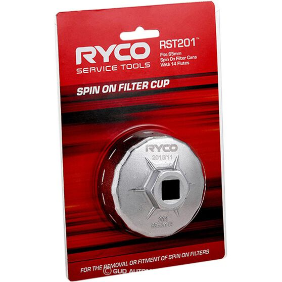 Ryco Oil Filter Cup Wrench - RST201, , scanz_hi-res