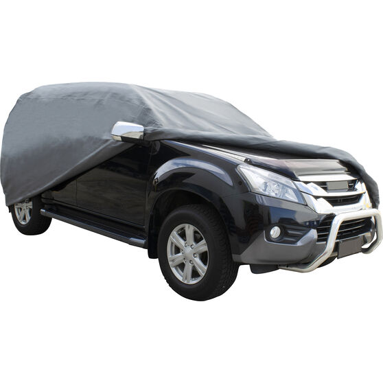 CoverALL Car Cover - Essential Protection - Suits 4WD Large to XLarge Vehicles, , scanz_hi-res