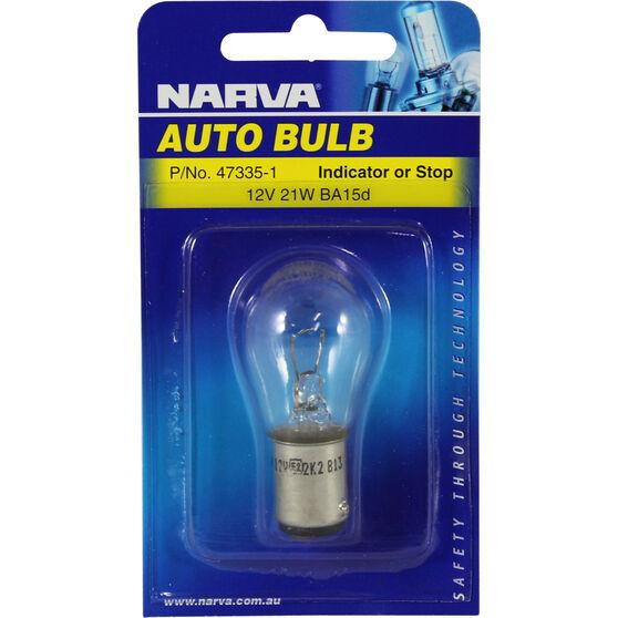 Narva Bulb - 12V, 21W, BA15d, , scanz_hi-res