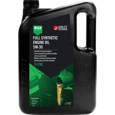 SCA Full Synthetic Engine Oil 5W-30 5 Litre, , scanz_hi-res