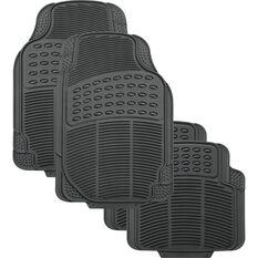 Defend Car Floor Mats - Grey, Set of 4, , scanz_hi-res