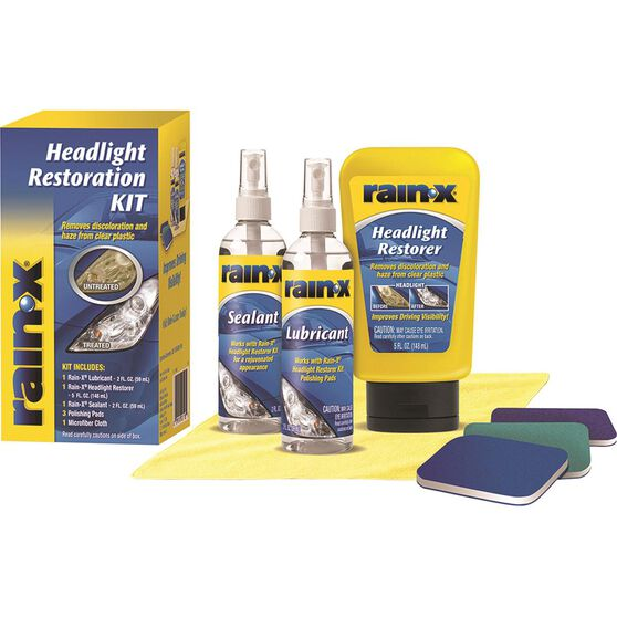 Rain-X Headlight Restoration Kit, , scanz_hi-res