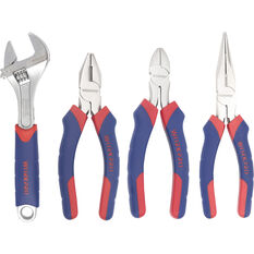 WORKPRO Plier & Wrench Set - 4 Piece, , scanz_hi-res