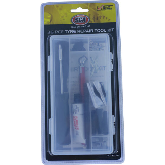 SCA Tyre Repair Kit - 36 Piece, , scanz_hi-res