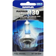 Headlight Globe - H7, 55W, 12V, Platinum Plus 130, , scanz_hi-res