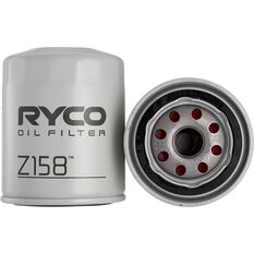 Ryco Oil Filter Z158, , scanz_hi-res