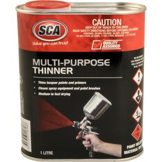 SCA Multi-Purpose Thinner - 1 Litre, , scanz_hi-res