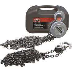 Block & Tackle - 3m Chain, 2000kg, , scanz_hi-res