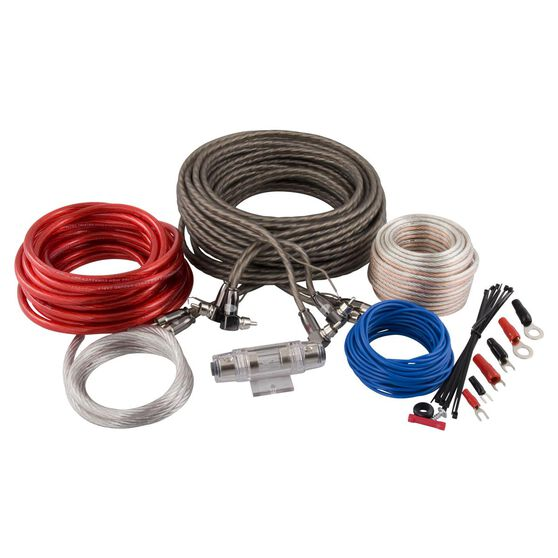 SCA Amplifier Wiring Kit - 4 Channel, 8G, , scanz_hi-res