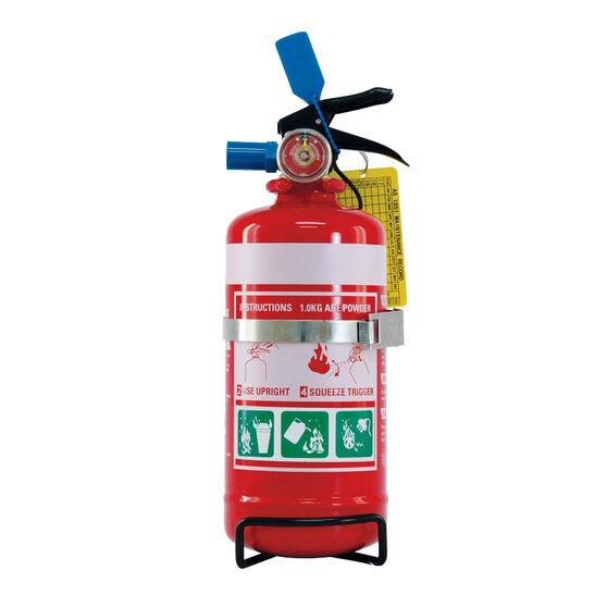 SCA Fire Extinguisher 1kg Vehicle & Home Metal Mounting Bracket, , scanz_hi-res
