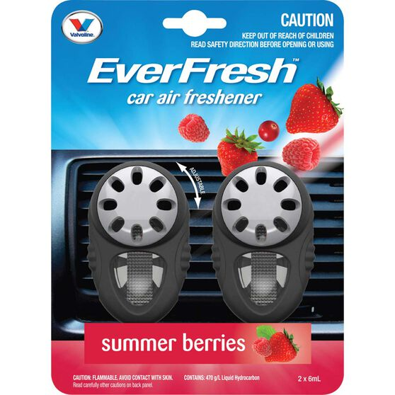 Everfresh Air Fresheners, Summer Berry - 2 Pack, , scanz_hi-res