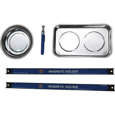 SCA Magnetic Parts Tray & Tool Set, 5 Piece, , scanz_hi-res