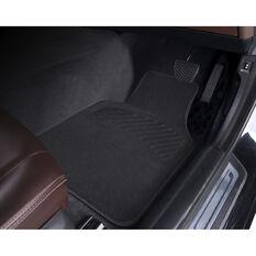 SCA Luxury Carpet Floor Mats - Carpet, Black, Set of 4, , scanz_hi-res