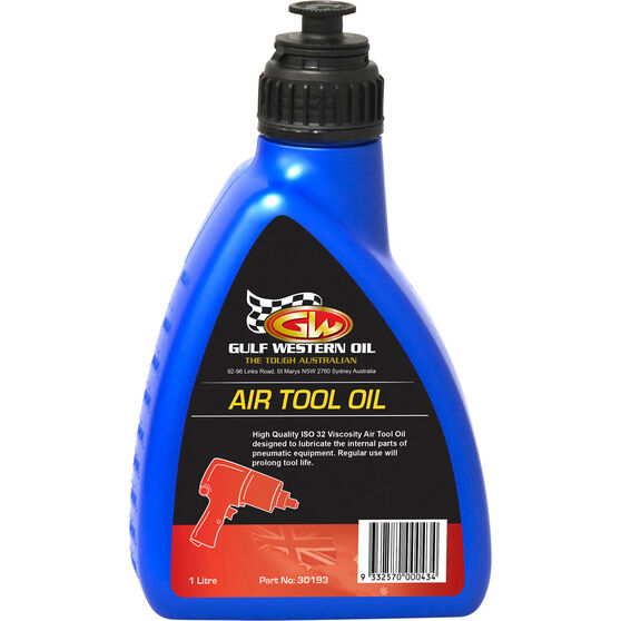 Gulf Western Air Tool Oil - 1 Litre, , scanz_hi-res