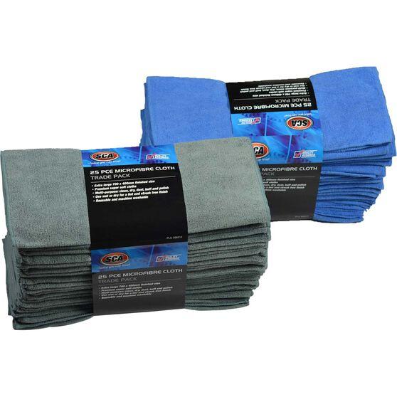 SCA Microfibre Cloths - 40cm X 70cm, 25 Pack, , scanz_hi-res