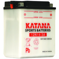 Powersports Battery -  12N14-3A, , scanz_hi-res