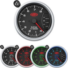 SAAS Tacho Gauge Black 3 3/4 inch, , scanz_hi-res