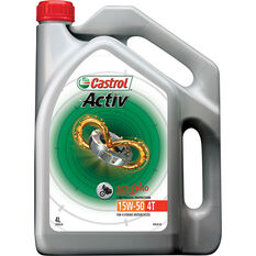 Activ 4T Motorcycle Oil - 15W-50, 4 Litre, , scanz_hi-res
