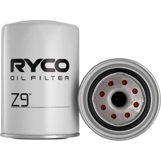 Ryco Oil Filter - Z9, , scanz_hi-res