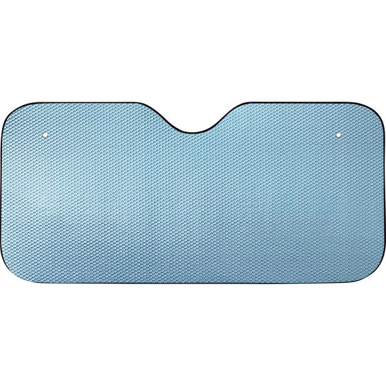 SCA Tall Bubble Sunshade - Matte Blue, Accordion, Front, , scanz_hi-res