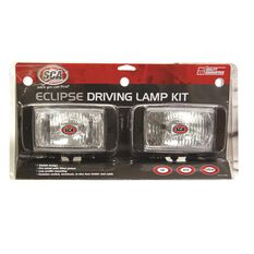 SCA Driving Light Kit - 55W, Eclipse, 144mm x 74mm, Rectangle, 2 Pack, , scanz_hi-res