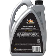 Gulf Western Premium Gold Engine Oil 15W-40 5 Litre, , scanz_hi-res
