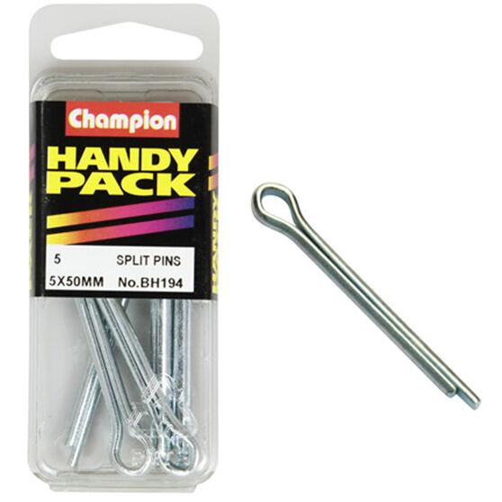 Champion Split Pins - 5mm, BH194, Handy Pack, , scanz_hi-res