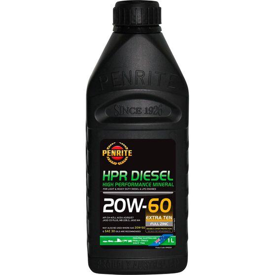 Penrite HPR Diesel Engine Oil - 20W- 60 1 Litre, , scanz_hi-res
