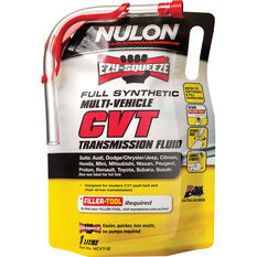 Nulon EZY-SQUEEZE Multi-Vehicle CVT Transmission Fluid 1 Litre, , scanz_hi-res