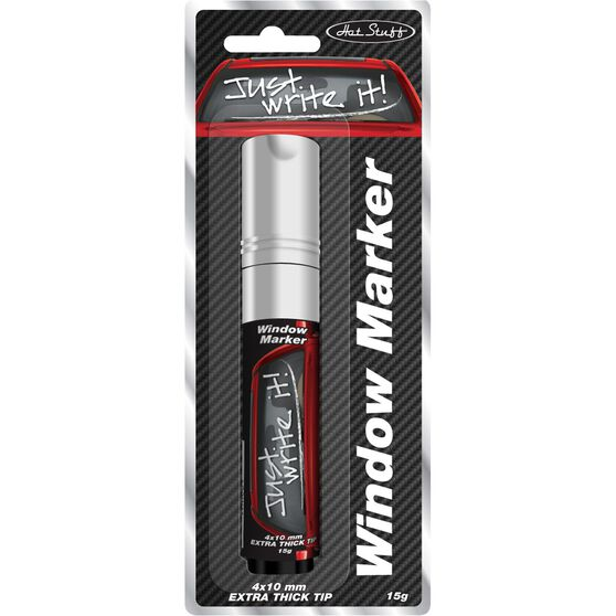 Hot Stuff Window Marker - White, , scanz_hi-res