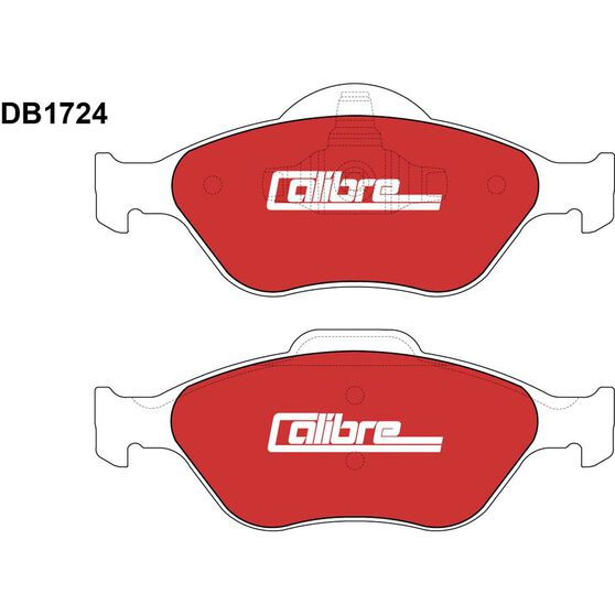 Calibre Disc Brake Pads - DB1724CAL, , scanz_hi-res