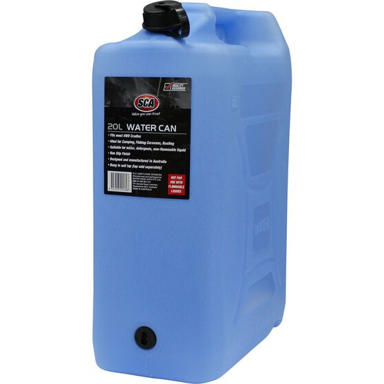 Water Carry Can - 20 Litre, Blue, , scanz_hi-res