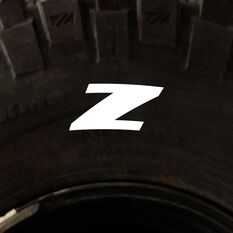 Tire Stickers - Letter Z, , scanz_hi-res