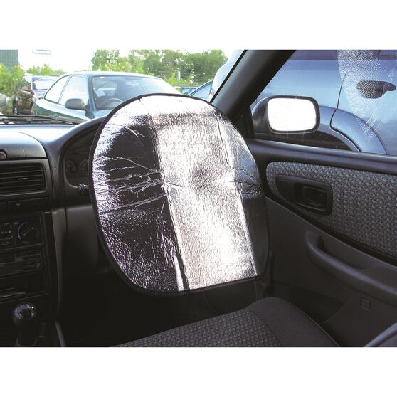 SCA Steering Wheel Shade - Silver, , scanz_hi-res
