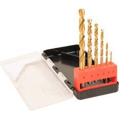 ToolPRO Tin Coated Drill Bit Set 6 Piece, , scanz_hi-res