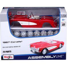 Die Cast, Assembly model; Chevy Corvette - 1:24 model, , scanz_hi-res