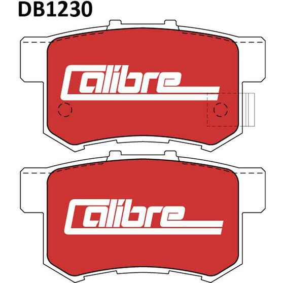 Calibre Disc Brake Pads - DB1230CAL, , scanz_hi-res