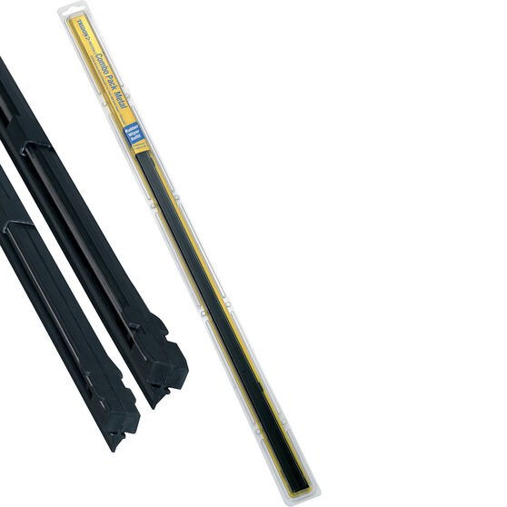 Tridon Wiper Refills - Metal Rail Combo Back Suits 6.5 and 7.5mm 2 Pack, , scanz_hi-res