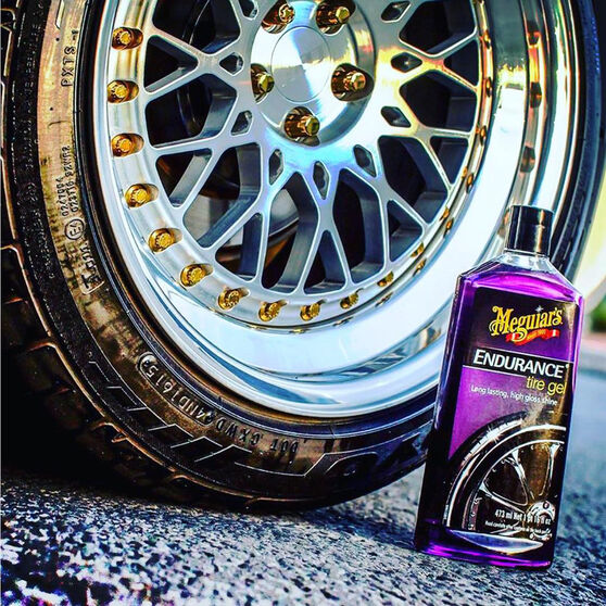 Meguiar's Endurance Tyre Shine Gel - 473mL, , scanz_hi-res