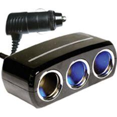Power Adaptor - 12/24V, 3 Socket, , scanz_hi-res