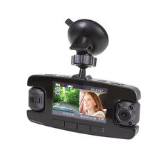 SCA 1080P Dual Channel Dash Cam with Rotating Lenses, , scanz_hi-res