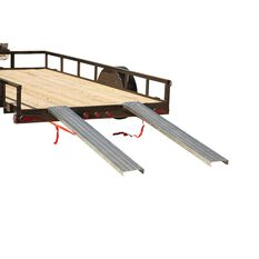 SCA Loading Ramps, Steel, Pair - 400kg, , scanz_hi-res