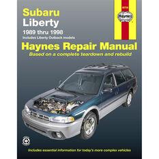 Car Manual For Subaru Liberty 1989-1998 - 89706, , scanz_hi-res