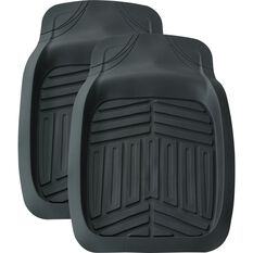 Ridge Ryder Deep Dish Car Floor Mats - Black, Front Pair, , scanz_hi-res